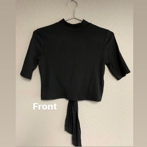 Open back forever 21 top